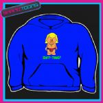 KEITH LEMON CARTOON SHITTING FUNNY HOODIE  5002